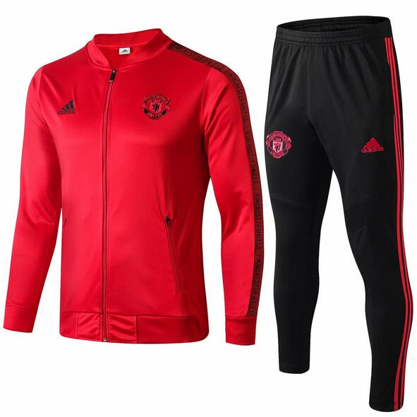 Manchester United Tracksuit 2019-20 Red Jacket Top + Pants
