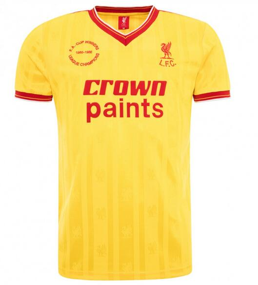 Liverpool Retro Soccer Jerseys 1985-86 Away Football Shirts