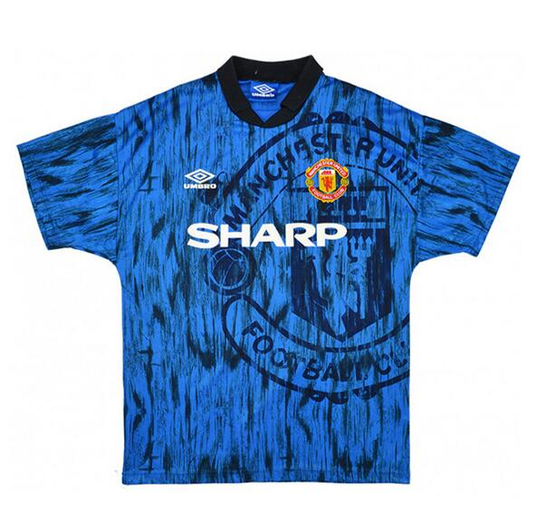 Manchester United Retro Soccer Jerseys 1992-93 Away Football Shirts