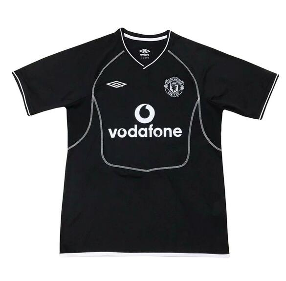Manchester United Retro Soccer Jerseys 2001-02 Away Football Shirts