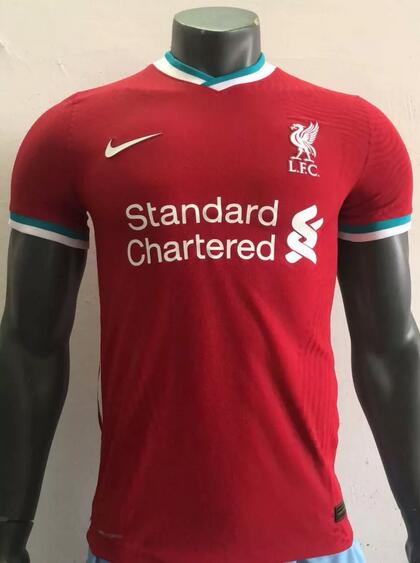 Liverpool Player Version Soccer Jerseys 2020-21 Home Football Shirts
