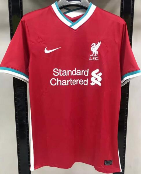 Liverpool Soccer Jerseys 2020-21 Home Football Shirts