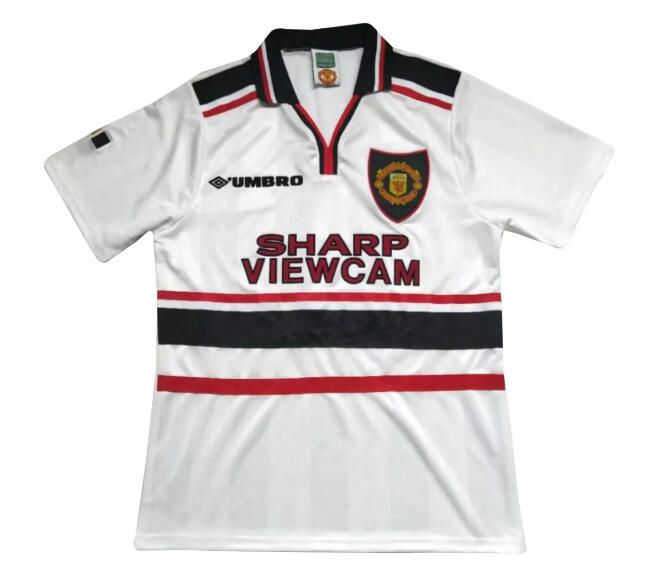 Manchester United Retro Soccer Jerseys 1998-99 Away Football Shirts