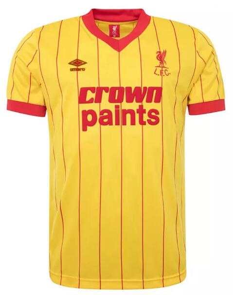 Liverpool Retro Soccer Jerseys 1983-84 Away Football Shirts