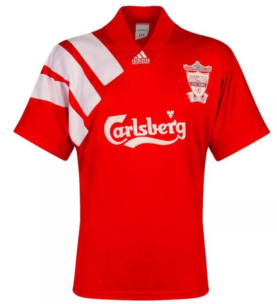 Liverpool Retro Soccer Jerseys 1992 Home Football Shirts