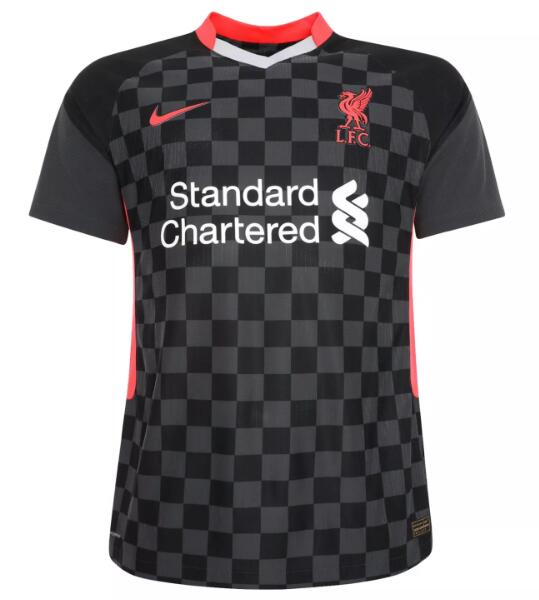 Liverpool Women Soccer Jerseys 2020-21 Third Football Shirts