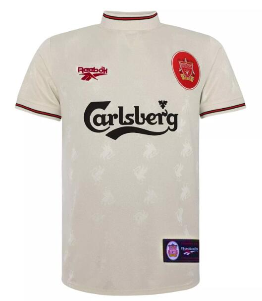 Liverpool Retro Soccer Jerseys 1996-97 Away Football Shirts