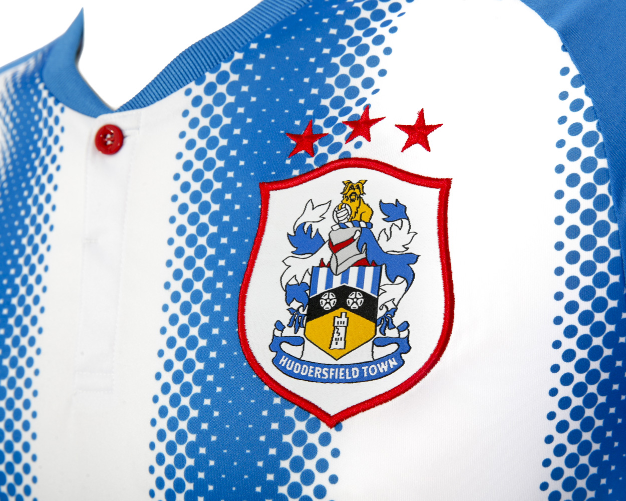 Huddersfield Soccer Jersey 2017-18 Home Football Shirt Men