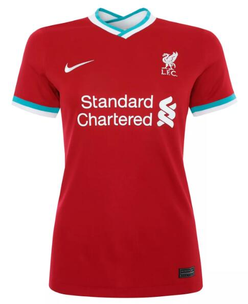 Liverpool Women Soccer Jerseys 2020-21 Home Football Shirts