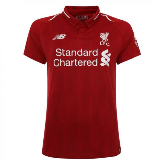Liverpool Women Soccer Jerseys 2018-19 Home Football Shirts