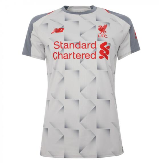 Liverpool Women Soccer Jerseys 2018-19 Third Football Shirts