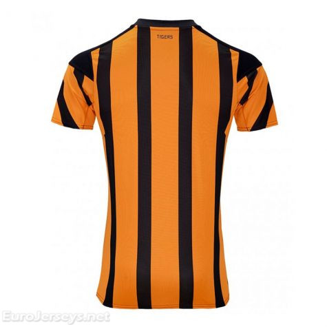 Hull City 2017-18 Home Shirt Soccer Jersey