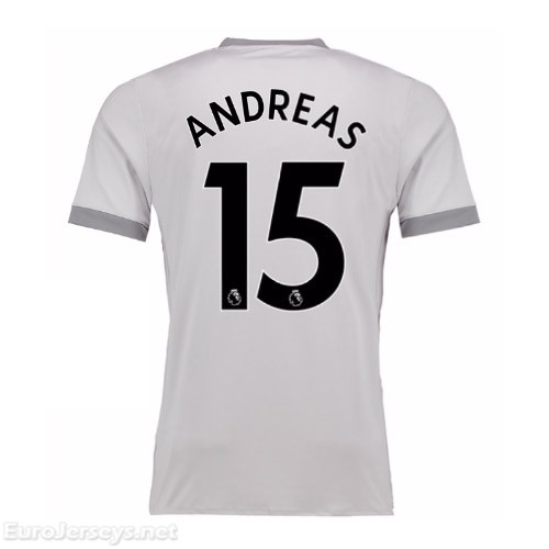 Manchester United 2017-18 Third Andreas #15 Shirt Soccer Jersey