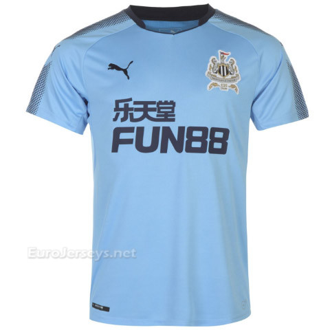 Newcastle United 2017-18 Away Shirt Soccer Jersey