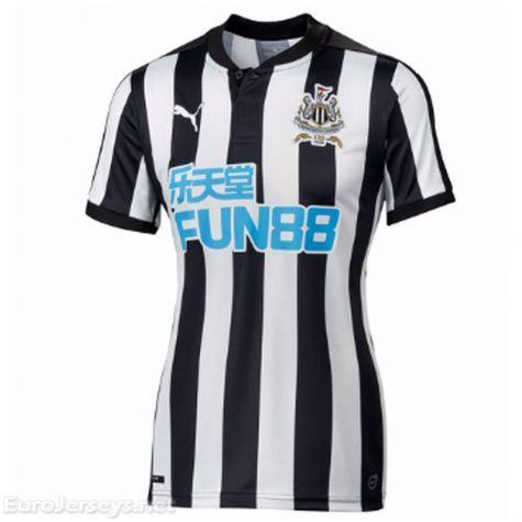 Newcastle United 2017-18 Home Women's Shirt Soccer Jersey