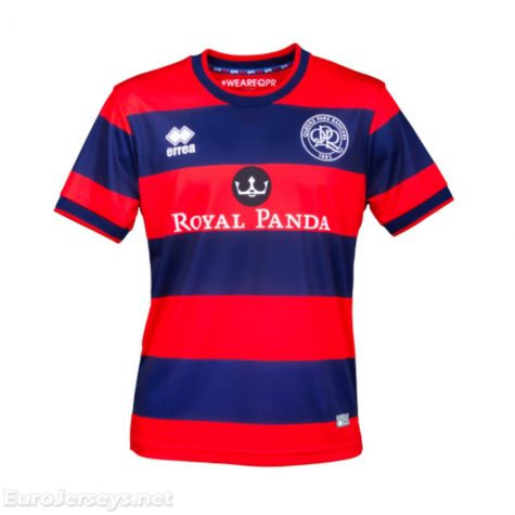 Queens Park Rangers 2017-18 Away Shirt Soccer Jersey