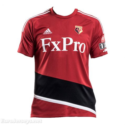 Watford Away Best Wholesale Football Kit 2017-18 Cheap Soccer Jerseys