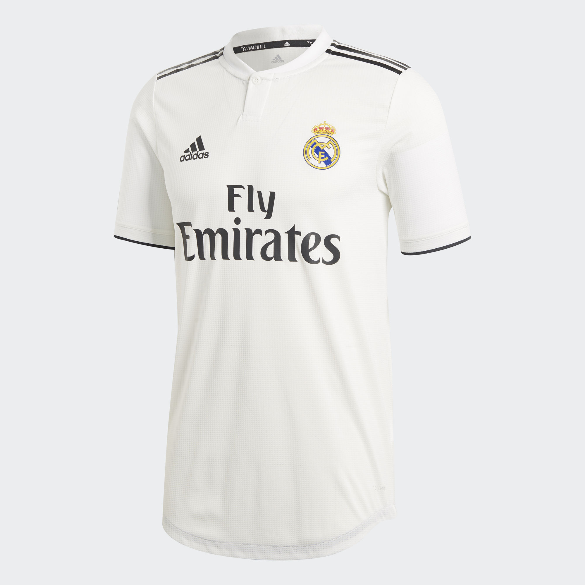 Real Madrid Soccer Jerseys 2018-19 Home Football Shirts