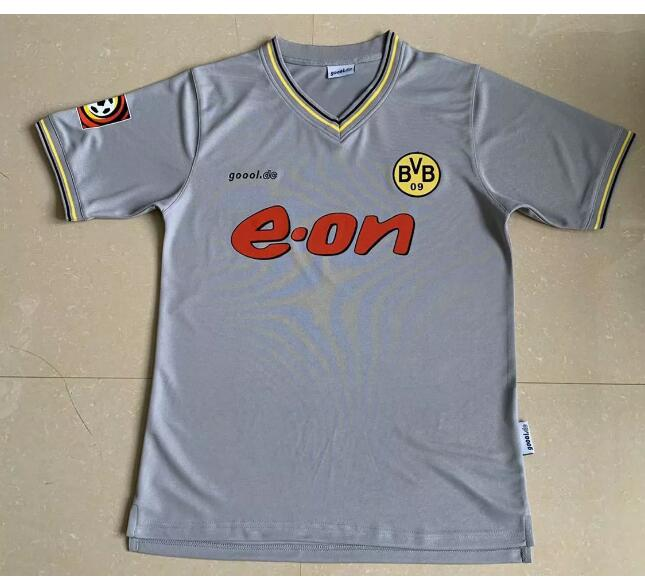 Borussia Dortmund Retro Soccer Jerseys 2000 Away Football Shirts