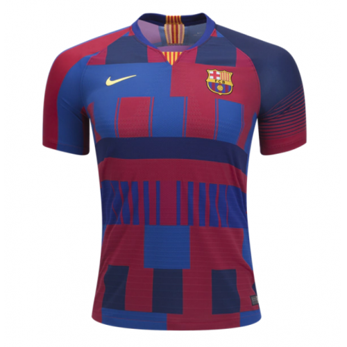 Barcelona 20th Anniversary Home Jersey Shirt 2018-19