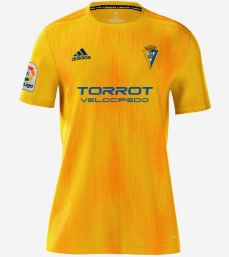 Cádiz CF Soccer Jerseys 2019-20 Home Football Shirts