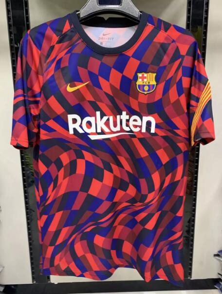 Barcelona Training Jersey Shirts 2020-21 Color