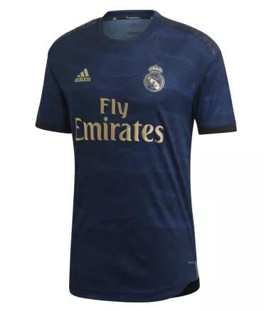 Real Madrid Player Version Soccer Jerseys 2019-20 Away Football Shirts