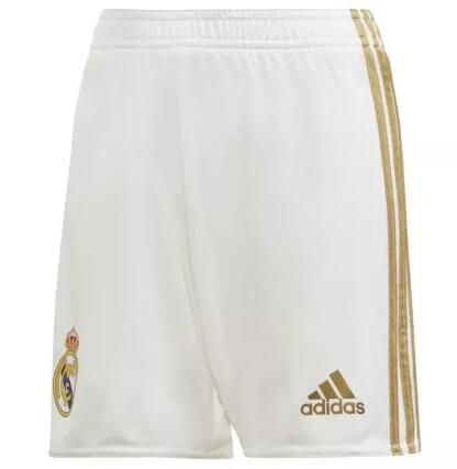 Real Madrid Home Soccer Shorts 2019-20