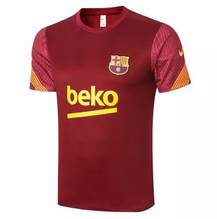 Barcelona Training Jersey Shirts 2020-21 Red