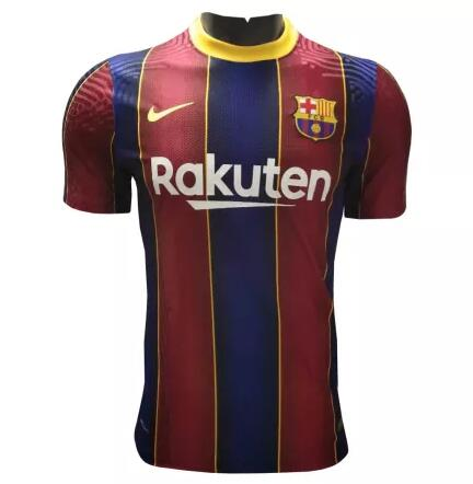Barcelona Player Version Soccer Jerseys 2020-21 Home Football Shirts