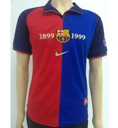 Barcelona Retro Soccer Jerseys 1899-1998 Home Football Shirts