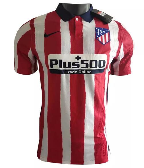Atletico Madrid Player Version Soccer Jerseys 2020-21 Home Football Shirts