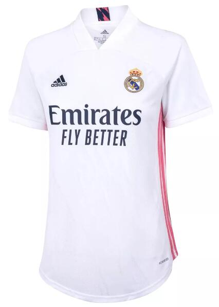 Real Madrid Women Soccer Jerseys 2020-21 Home Football Shirts