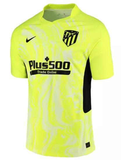 Atletico Madrid Player Version Soccer Jerseys 2020-21 Third Football Shirts