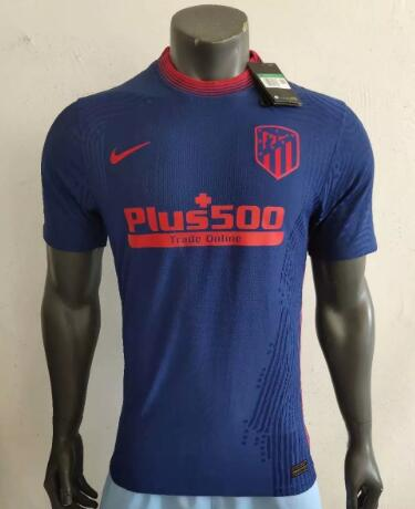 Atletico Madrid Player Version Soccer Jerseys 2020-21 Away Football Shirts