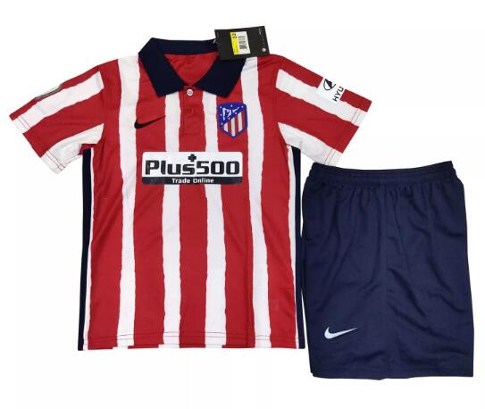 Atletico Madrid Kits Soccer Suits 2020-21 Home Football Kits