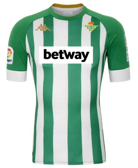 Real Betis Soccer Jerseys 2020-21 Home Football Shirts