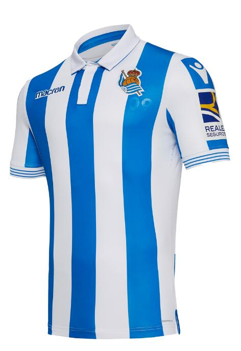 Real Sociedad Soccer Jerseys 2018-19 Home Football Shirts