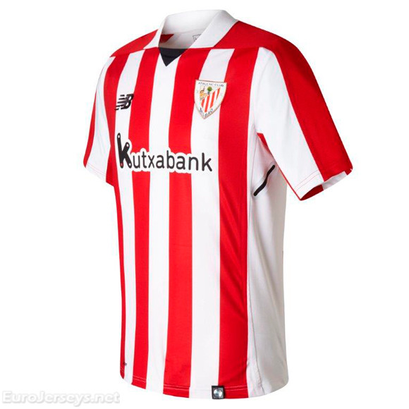 Athletic Club de Bilbao 2017-18 Home Shirt Soccer Jersey