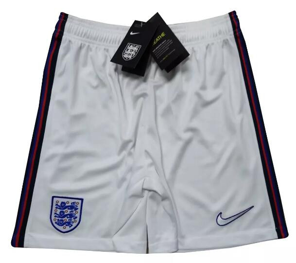 England Home White Soccer Shorts 2020-21
