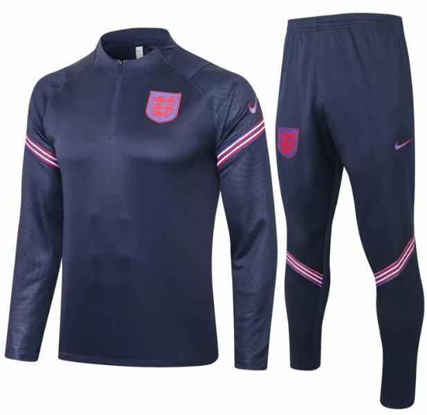 England Tracksuits 2020 Navy Sweat Top + Pants