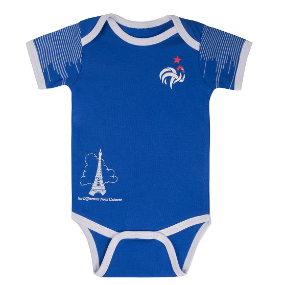 France Soccer Baby Suit 2018 World Cup Infant Football Shirts