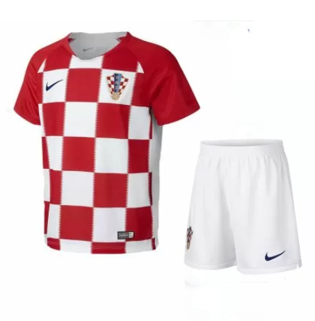online store b2eb1 064c8 Kids Croatia Soccer Jerseys 2018 World Cup Home Football ...