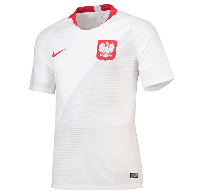 Poland Soccer Jerseys 2018 World Cup Home Football Shirts