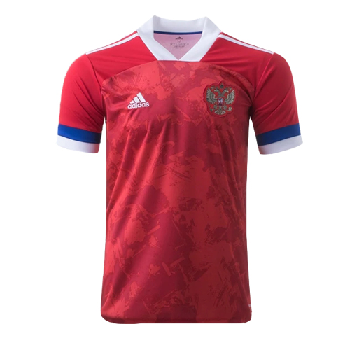 Russia 2020 Home Red Soccer Jerseys Shirt
