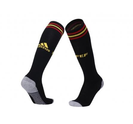 Spain Home Soccer Socks 2018 World Cup