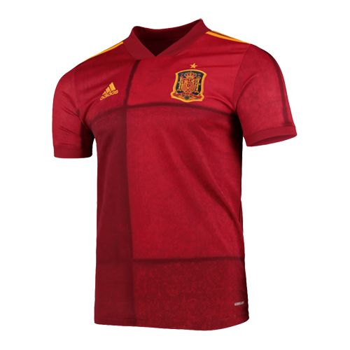 Spain 2020 Home Red Soccer Jerseys Shirt