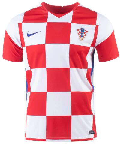 Croatia Soccer Jerseys 2020 EURO Home Football Shirts
