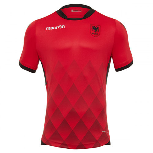 Albania 2017-18 Home Shirt Soccer Jersey