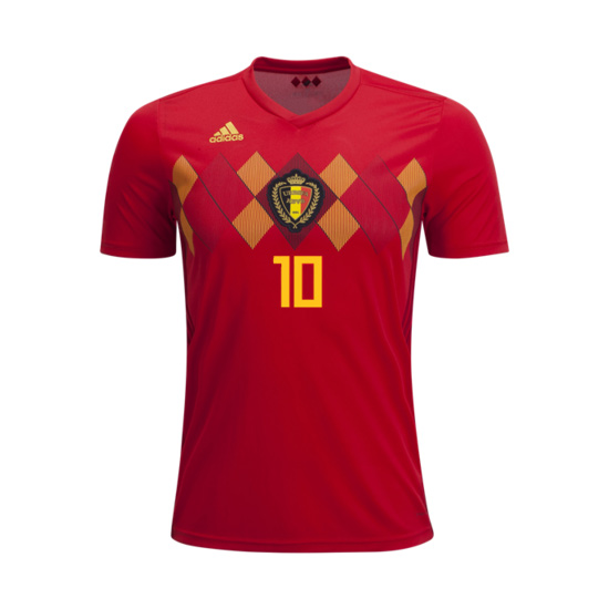 Belgium 2018 World Cup Home Personalized Shirt Soccer Jersey